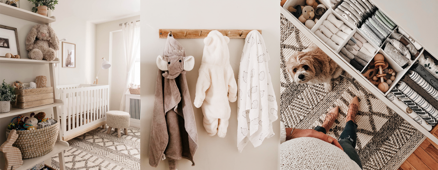 Nursery Reveal! A Gender Neutral Nursery Look with Blogger Kendall Kremer