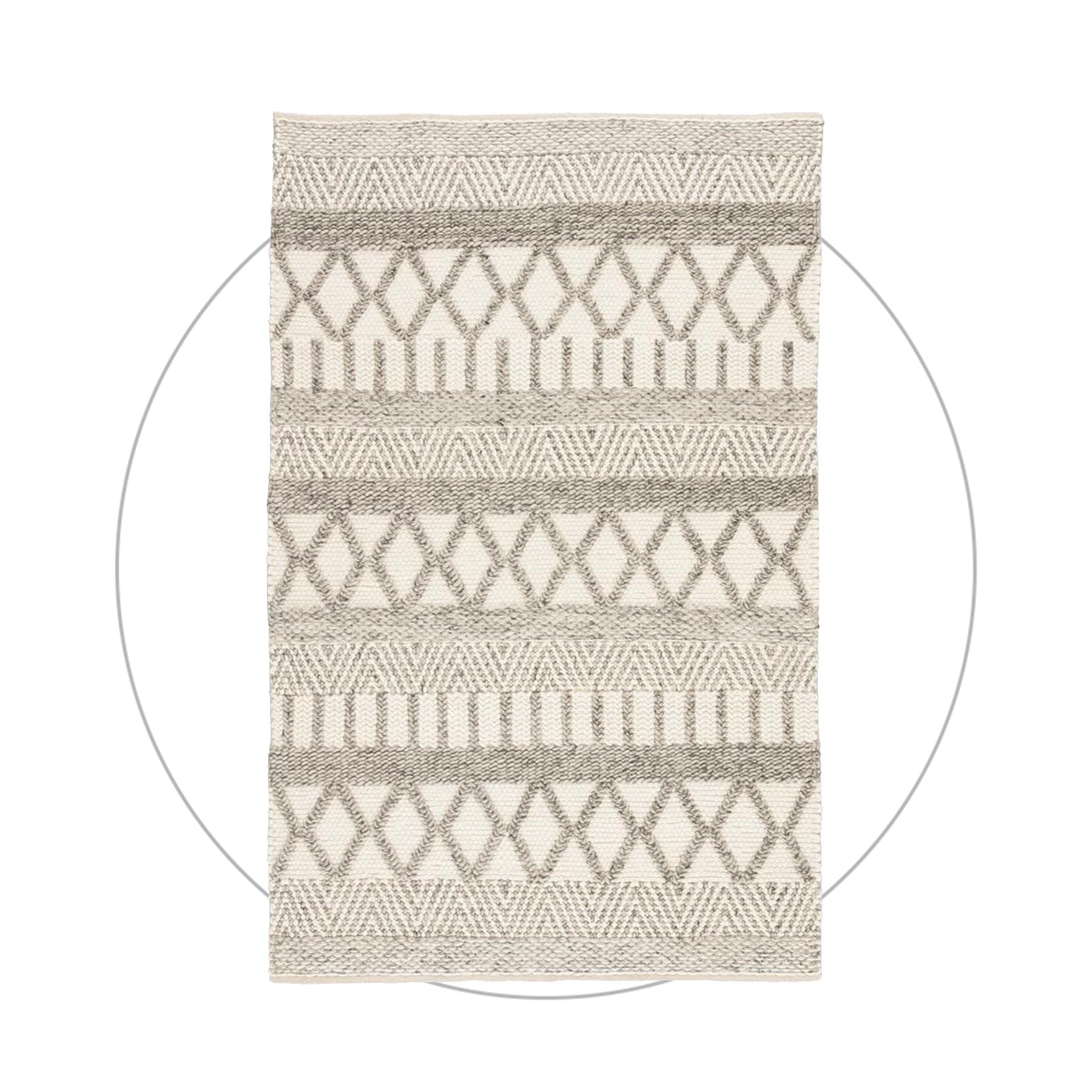 Modern short Pile Carpet Patchwork Gemstone Pattern Wohnzim Grey Turquoise