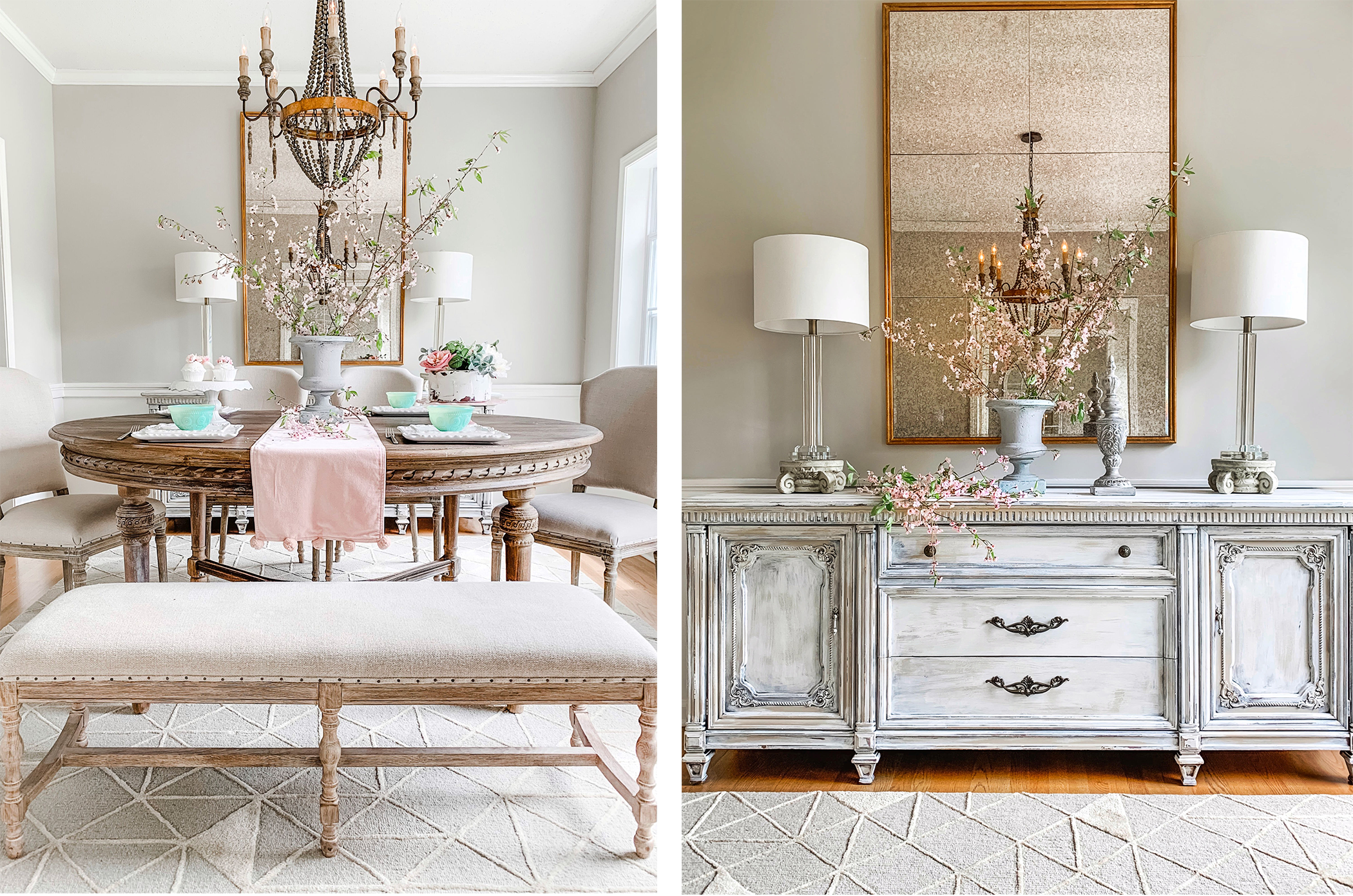 French Country Dining Room Reveal With Blogger Pamela Dyer Kathy Kuo Blog Kathy Kuo Home