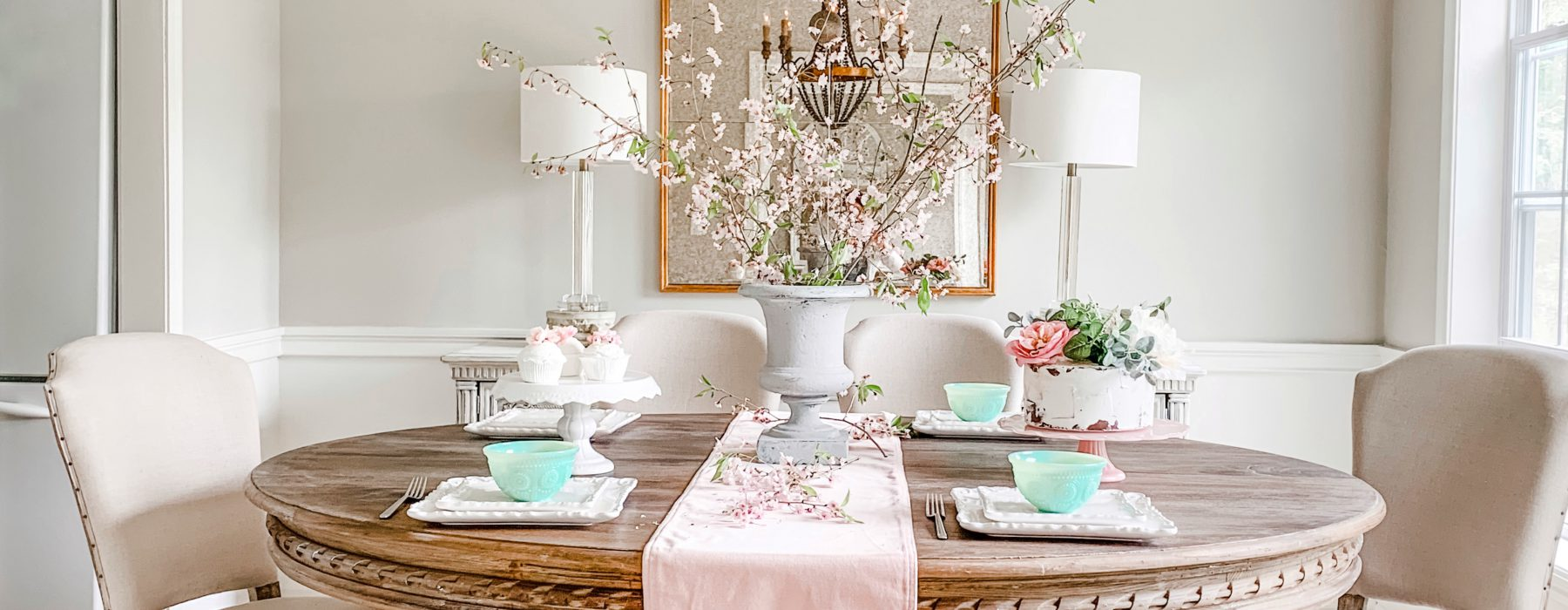French Country Dining Room Reveal with Blogger Pamela Dyer