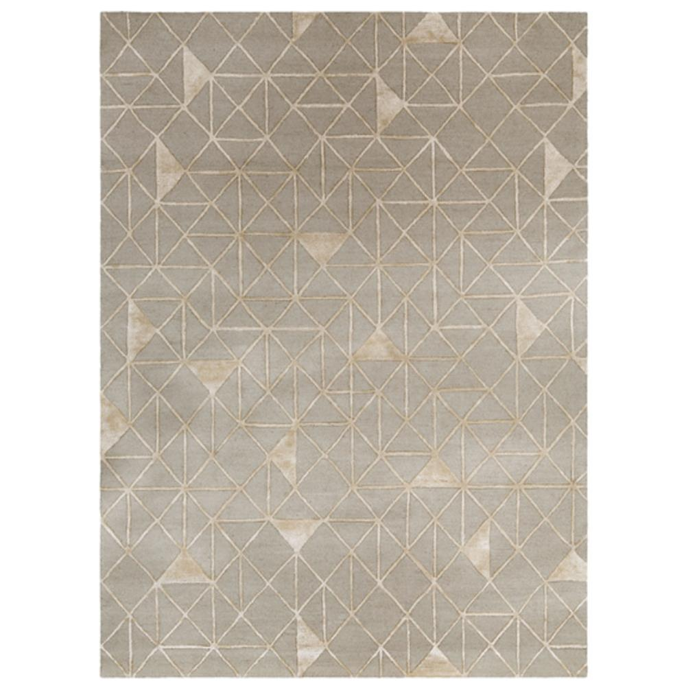 geometic patterned area rug