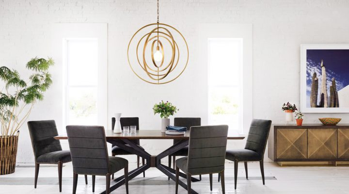 How to Use a Chic Chandelier in Your Kitchen Design