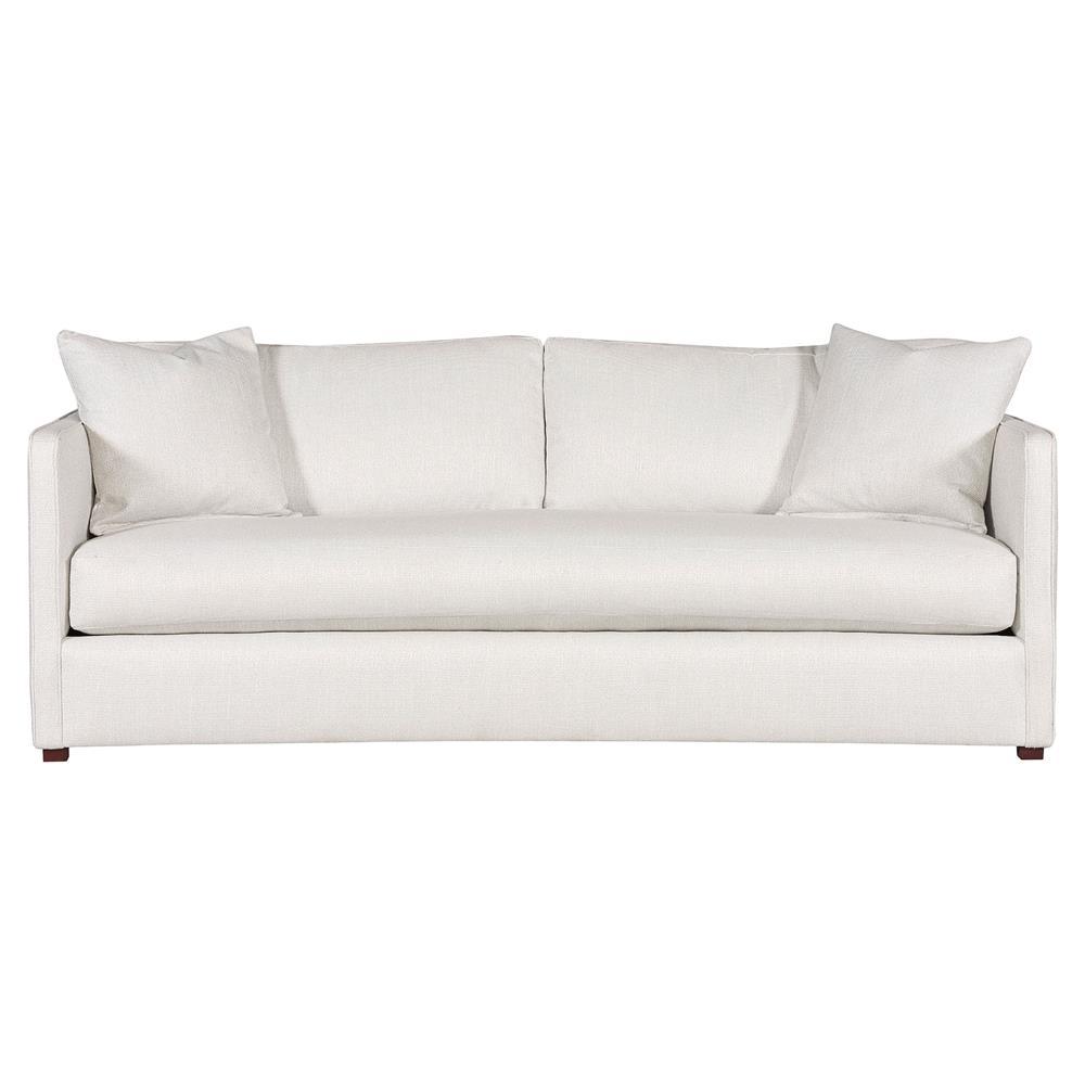 White Vanguard Linen Sofa