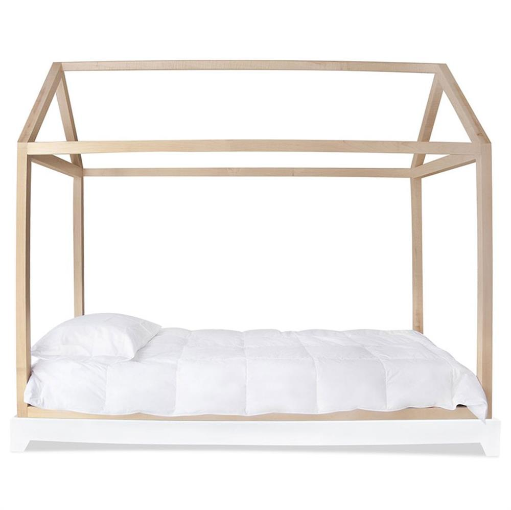 Nico & Yeye Domo Modern Canopy Twin Kids Bed