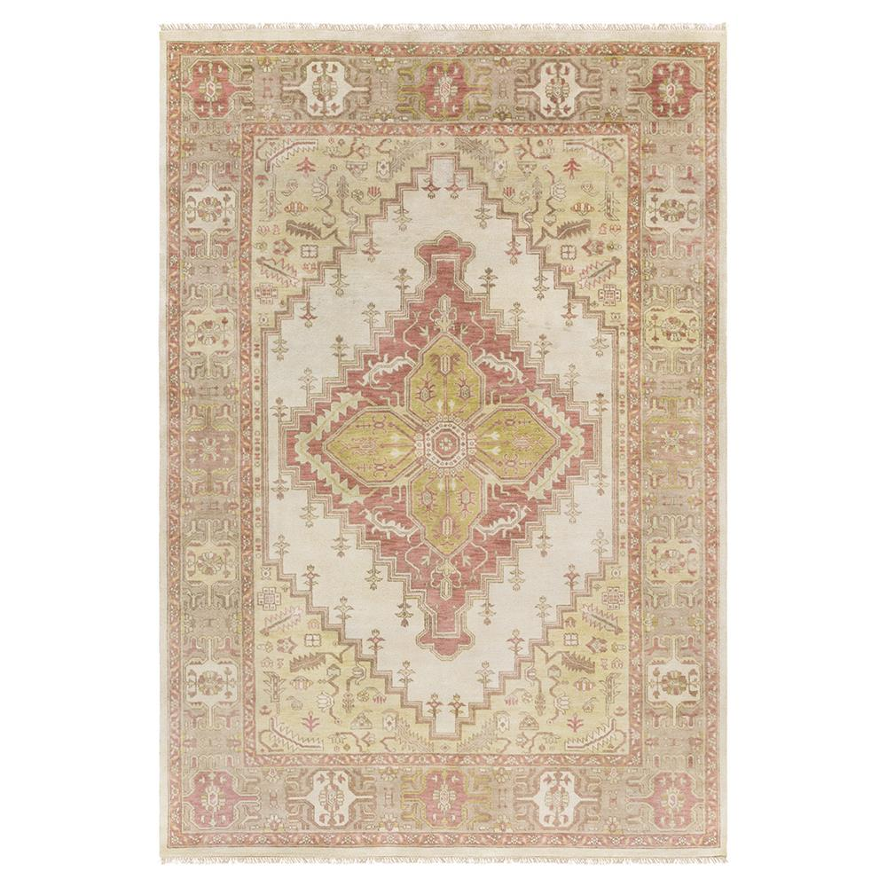 ornate patterned rug