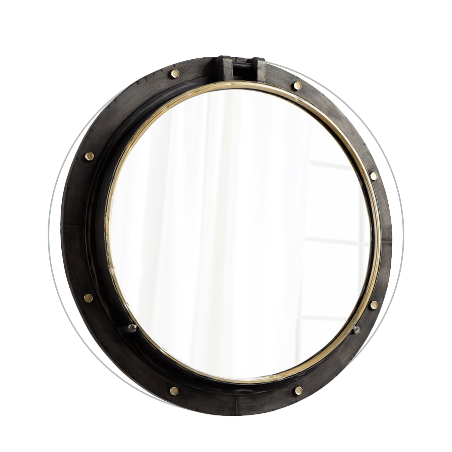 mirror with black Fram