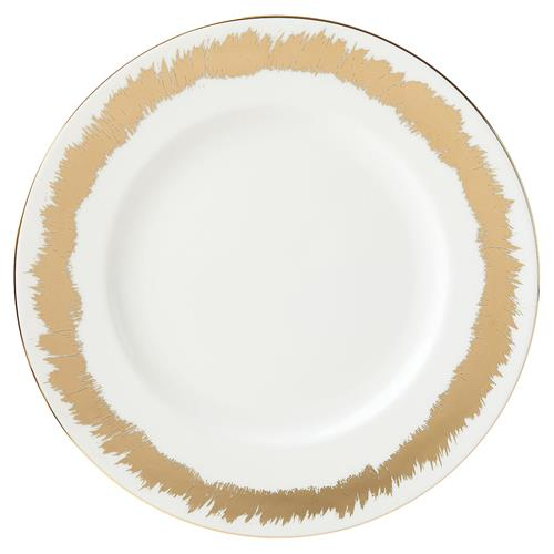 Plate with gold border