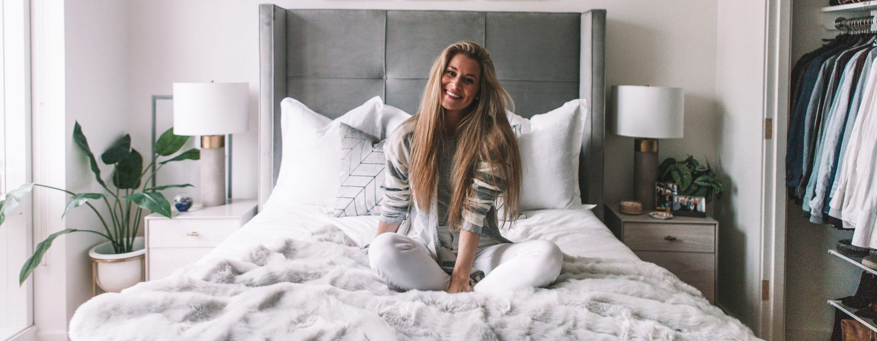 Olivia Rink Shares Her Classic Glam NYC Bedroom