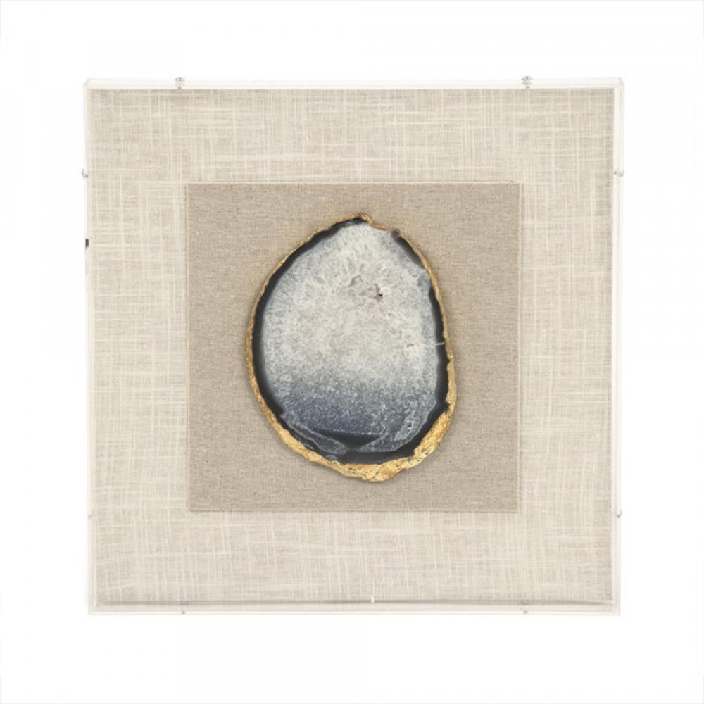 framed geode