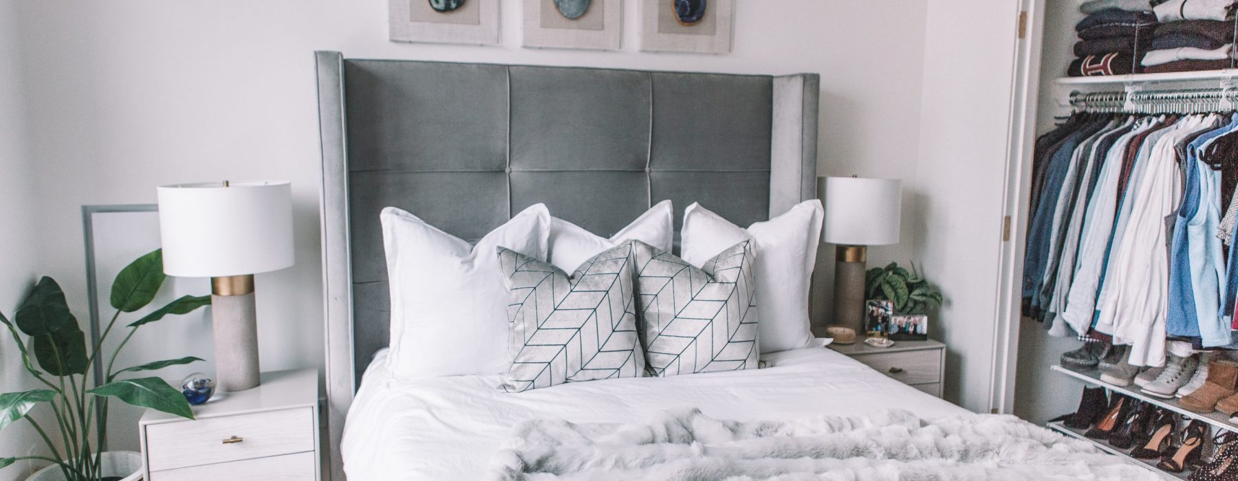 Crushing on: Decorating with Faux Fur in the Bedroom