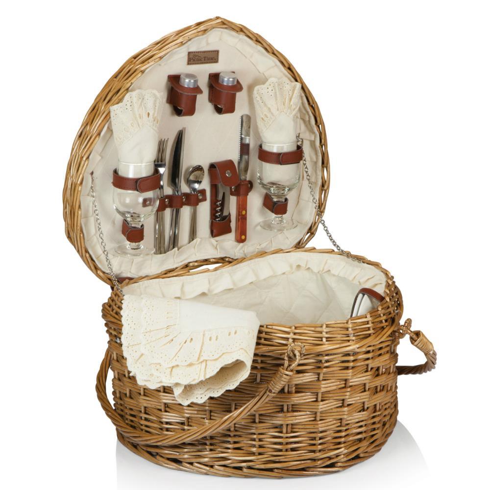 fancy picnic basket