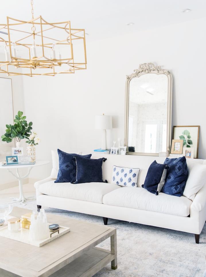 chic living room interior