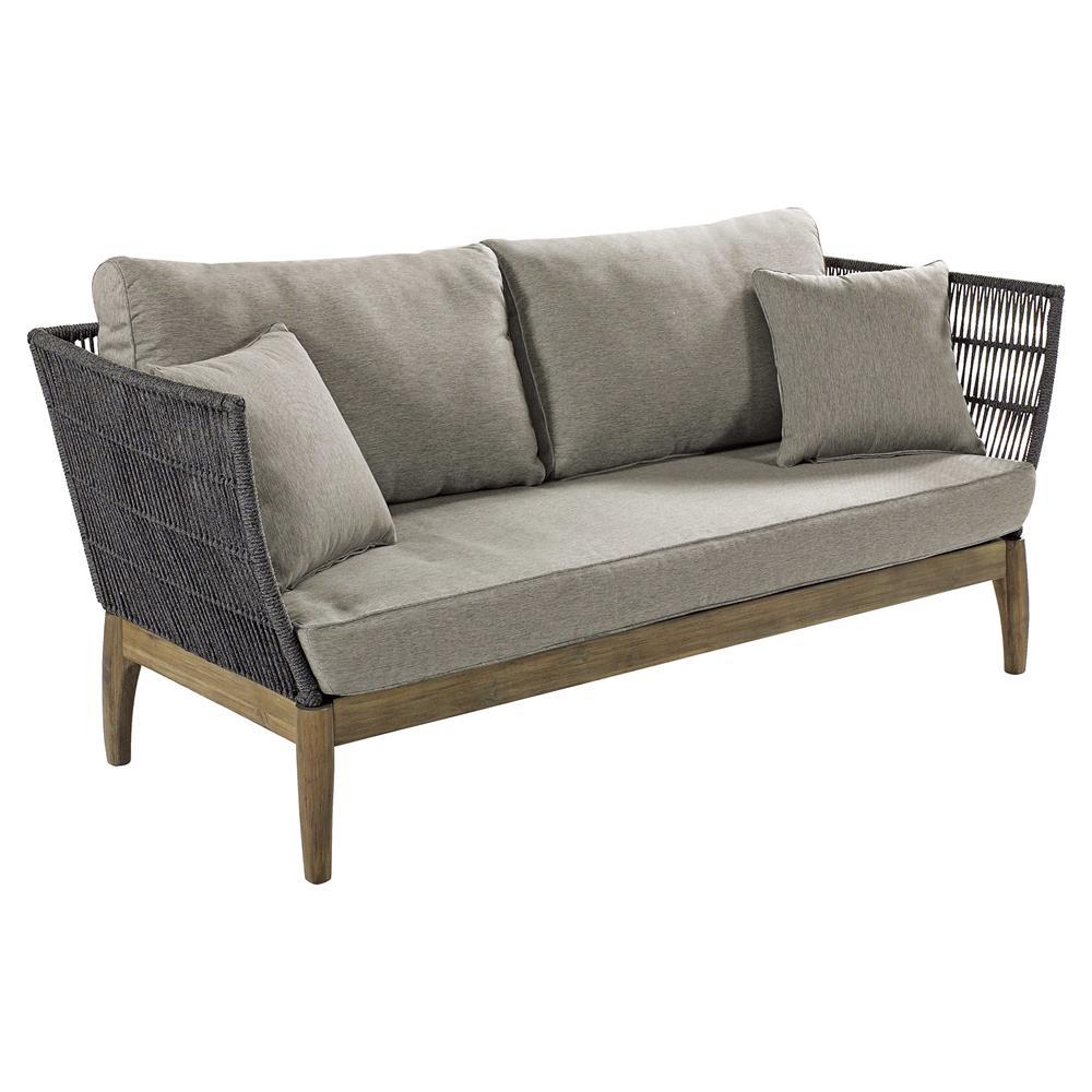 gray outdoor sofa
