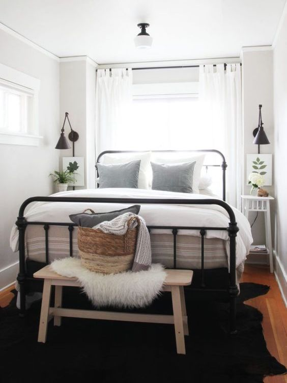 Small Space Living - Bedroom - Kathy Kuo Home