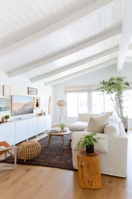 coastal living room interior