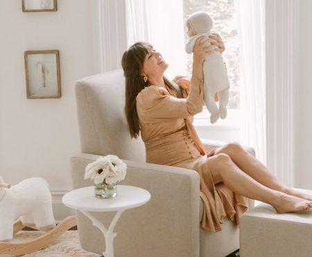 New Mama Jenny Cipoletti Shares Her Parisian Garden Nursery