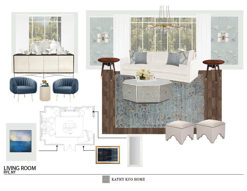 living room schematic