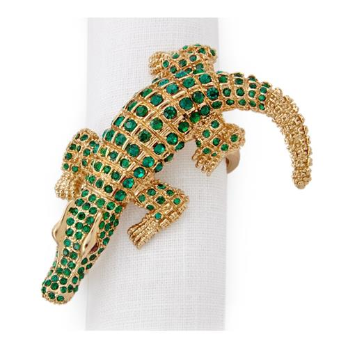 crocodile napkin ring