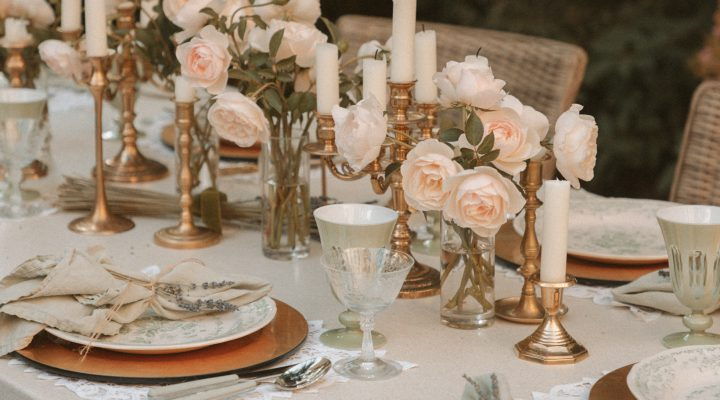 How To Throw A Rustic French Country Dinner Party