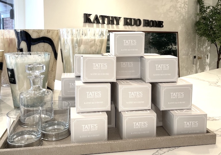 The Sweetest Collaboration: Kathy Kuo Home x Tate's Bake Shop