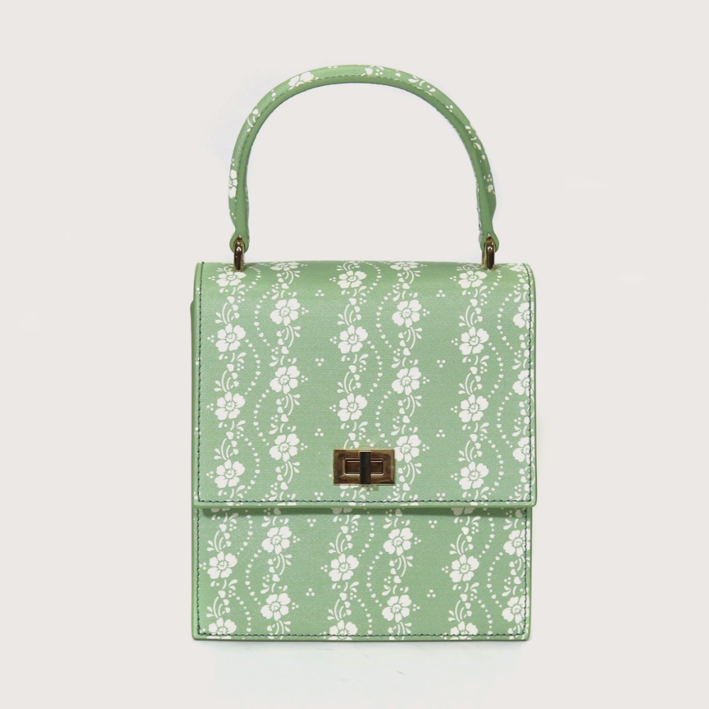 floral purse