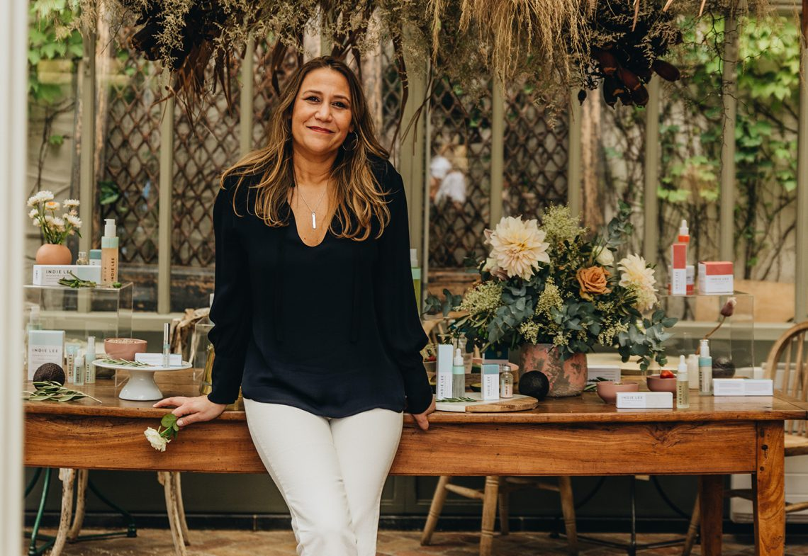 Celebrating Wellness Month with Skincare Entrepreneur Indie Lee